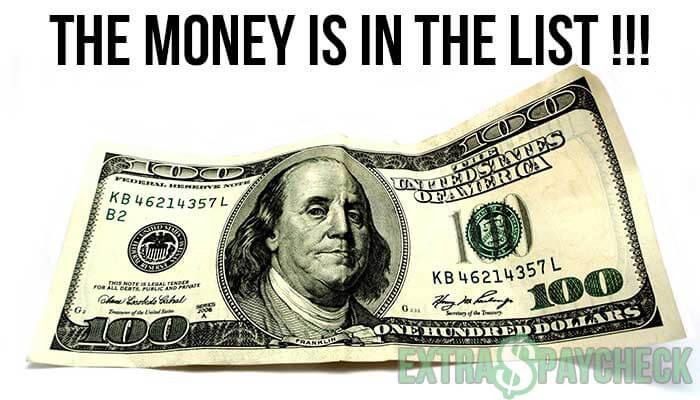 freelance e-mail marketing marketeer DigitalGods.be, The Money is in the List