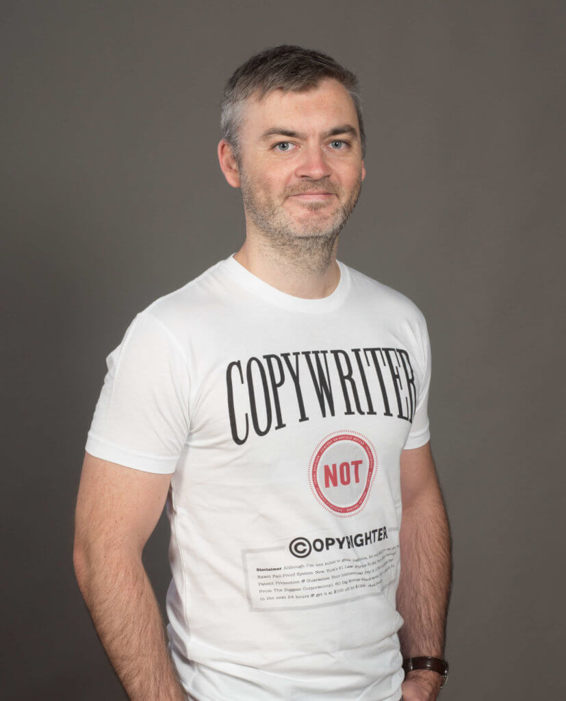 Jasper Verelst - freelance copywriter voor marketing, advertising, SEO - CopyBar.be