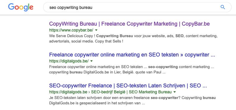 seo-teksten bureau - copybar.be