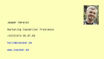 copybar.be - marketing-copywriting-bureau