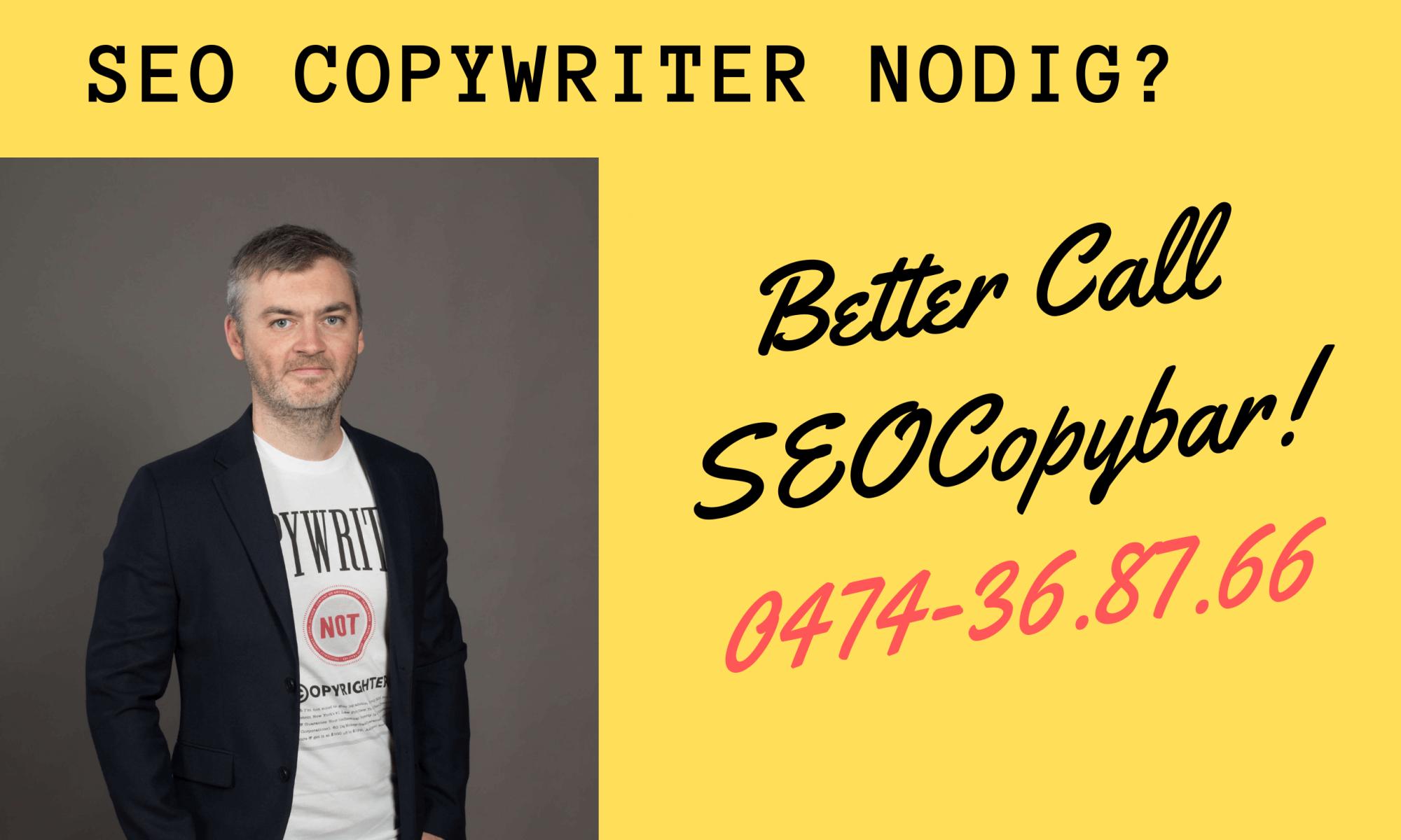 specialist seo-copywriting - COPYBar