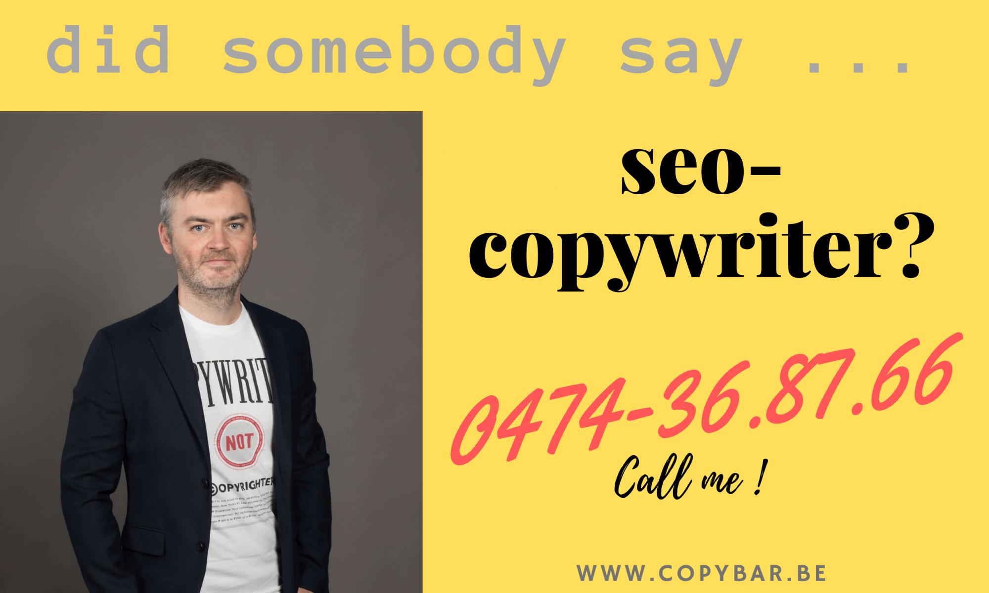 seo-copywriter nodig of gezocht