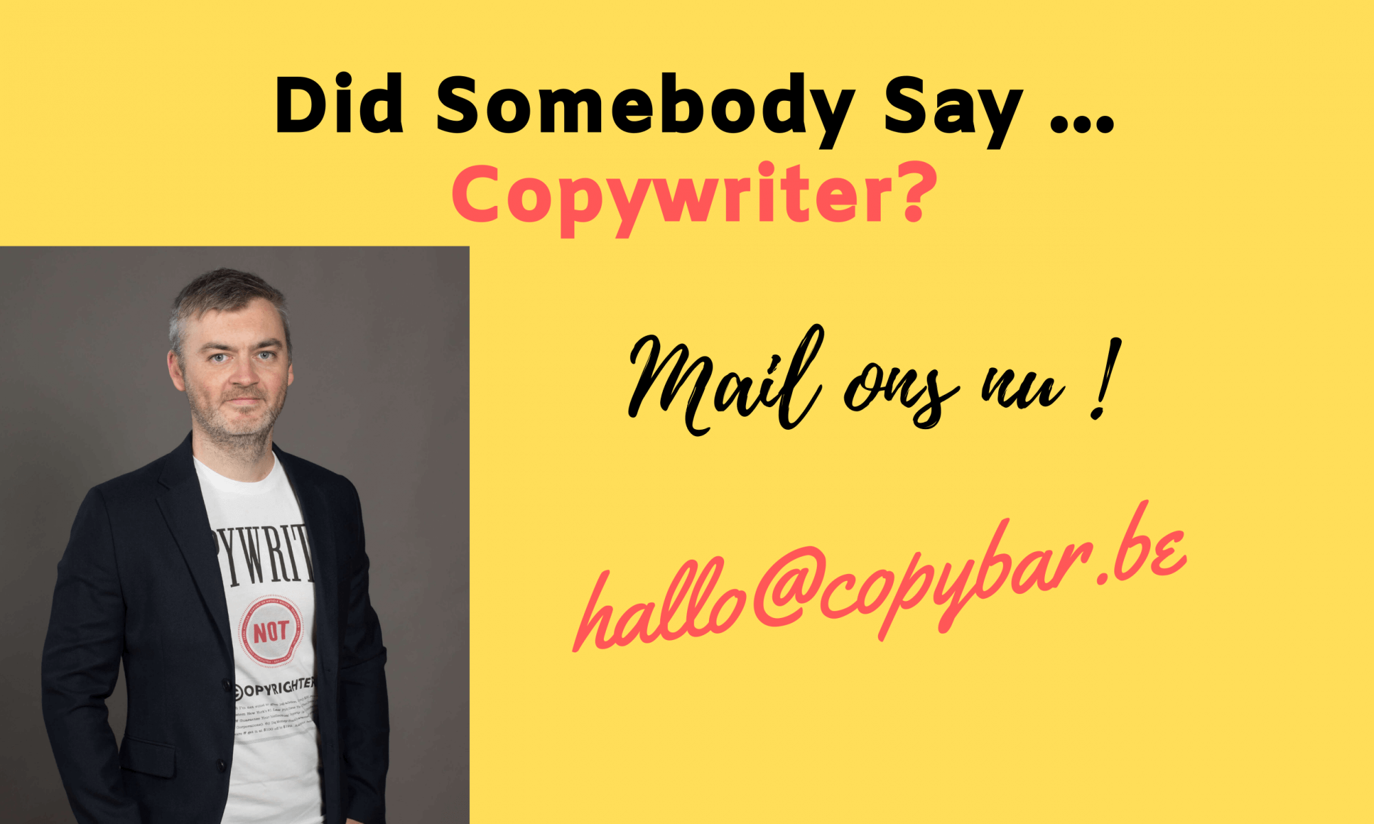 freelance copywriter voor online marketing teksten