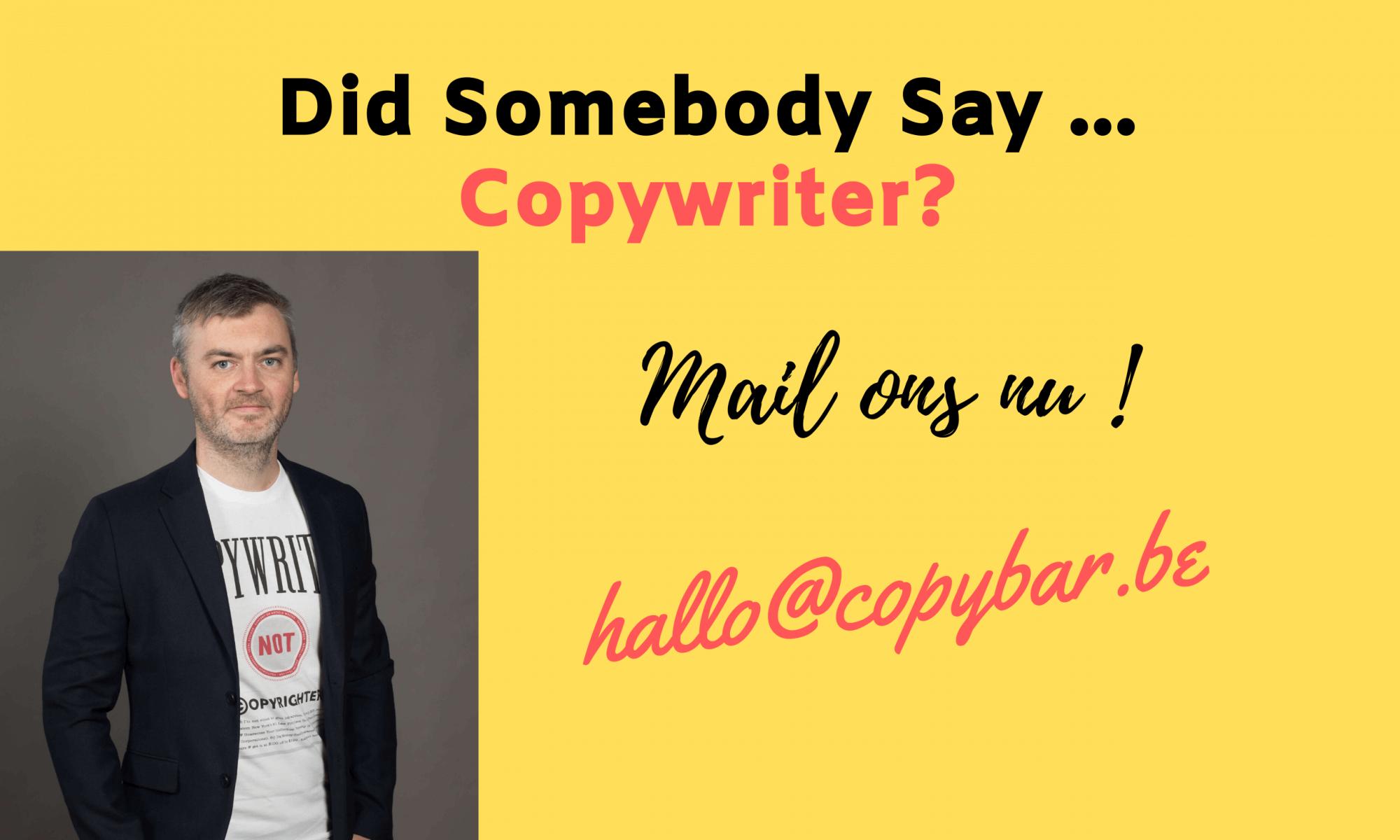 freelance copywriter voor online marketing teksten