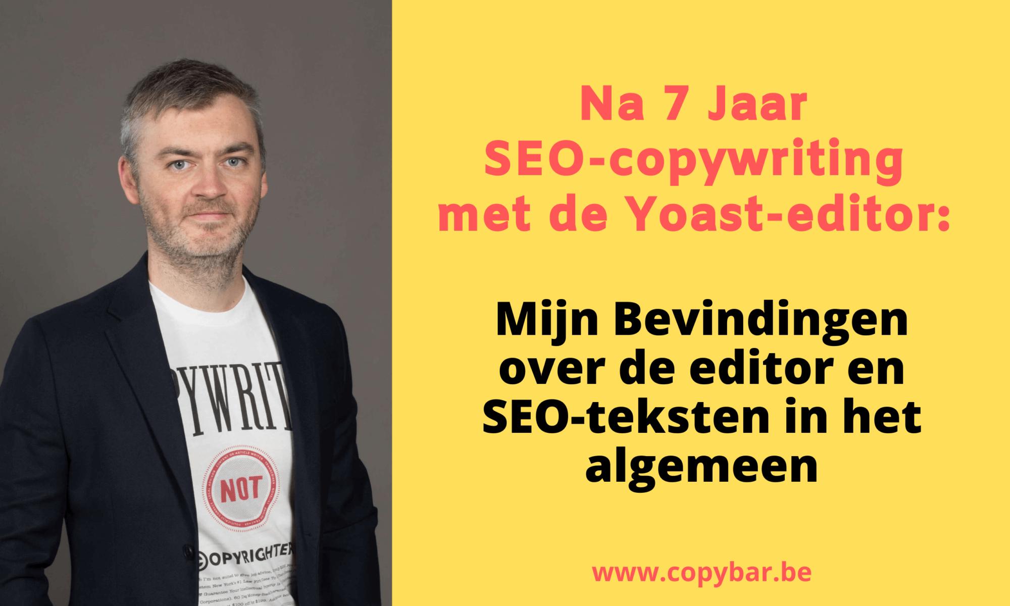 SEO-copywriting met yoast editor - bevindingen - review