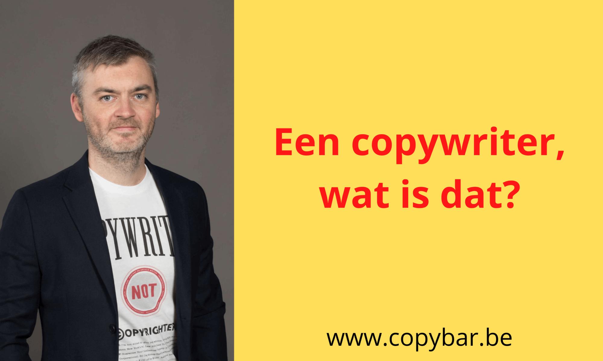 copywriter wat is dat - betekenis - definitie